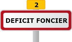reduction impot deficit foncier
