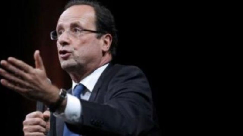 François Hollande Imposition 75% 1M€