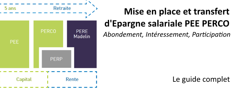 PEE 2018 : Mise en place, transfert d'épargne salariale PEE PERCO
