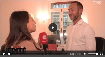 Anthony Calci dans l'émission Le Quotidien de Yann Barthès sur M6 en décembre 2018