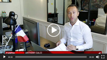 anthony calci dans M6 Capital Mai 2019